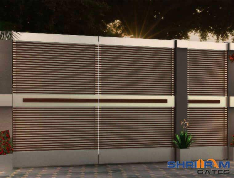Home Design Gate Ideas: Stainless Steel Main Gate