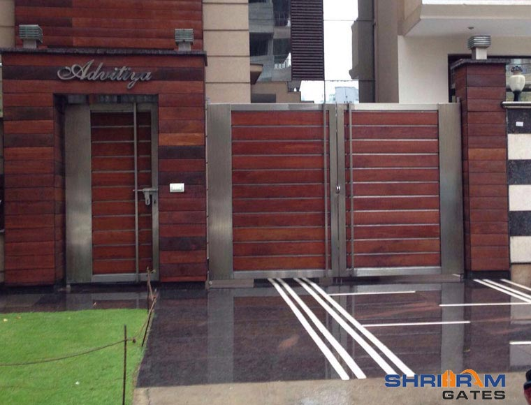 Stainless Steel Main Gate Designs