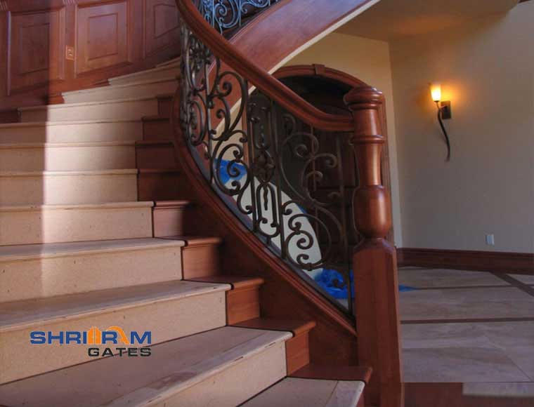 Stainless Steel Railing and  Wrought Iron Railing31