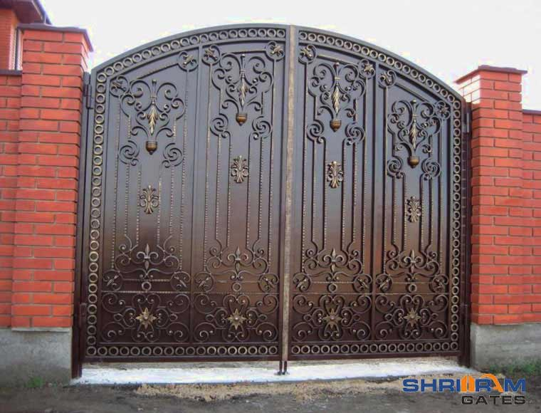 Wrought Iron Main Gate Wrought Iron Gates India