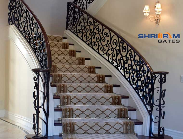 Stainless Steel Railing and  Wrought Iron Railing40