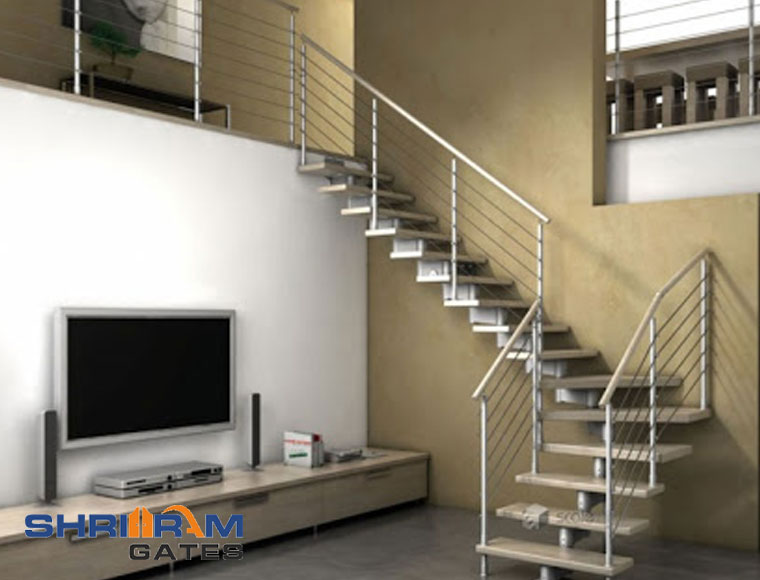 Stainless Steel Railing and  Wrought Iron Railing44