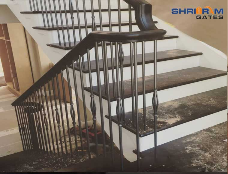 Stainless Steel Railing and  Wrought Iron Railing45