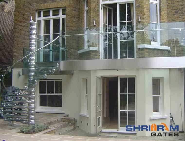 Balcony Railing,  Glass Railing46