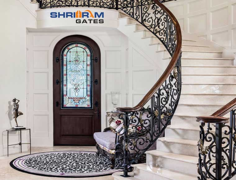 Stainless Steel Railing and  Wrought Iron Railing47