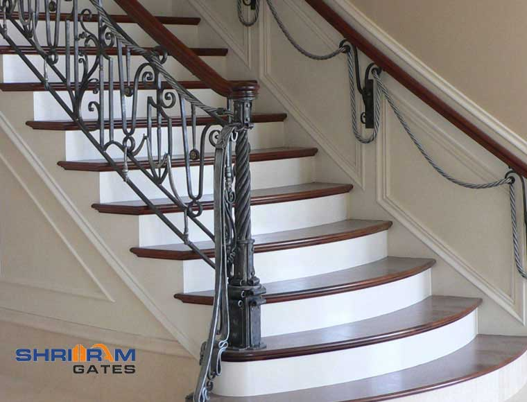 Stainless Steel Railing and  Wrought Iron Railing51