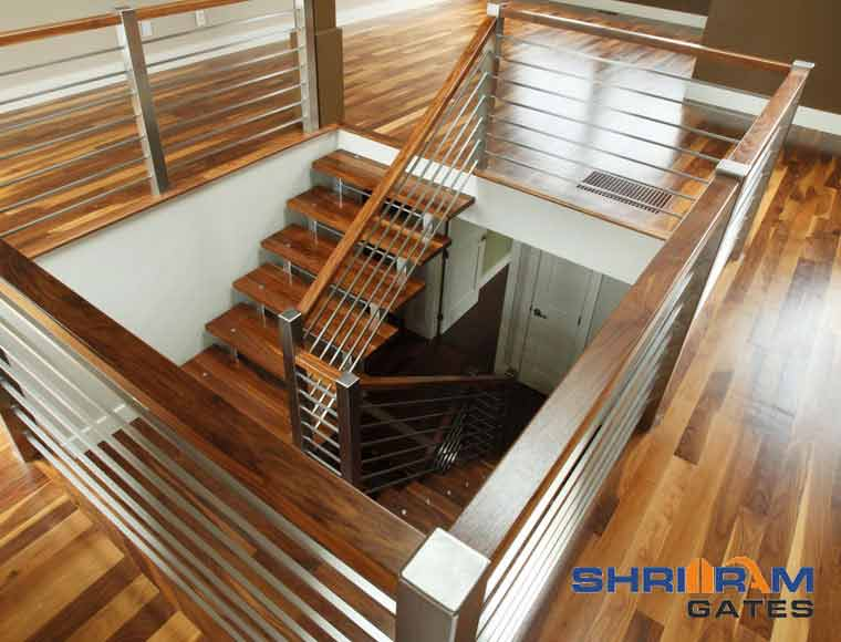 Stainless Steel Railing and  Wrought Iron Railing58