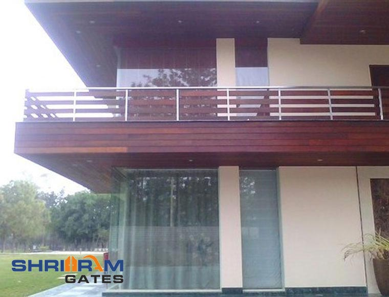 Stainless Steel Railing and  Wrought Iron Railing6