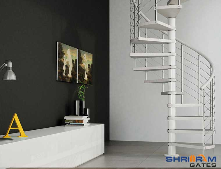 stainless steel staircase railing designs in india
