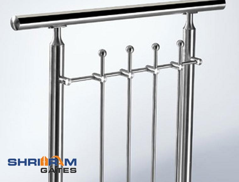 Stainless Steel Railing and  Wrought Iron Railing8