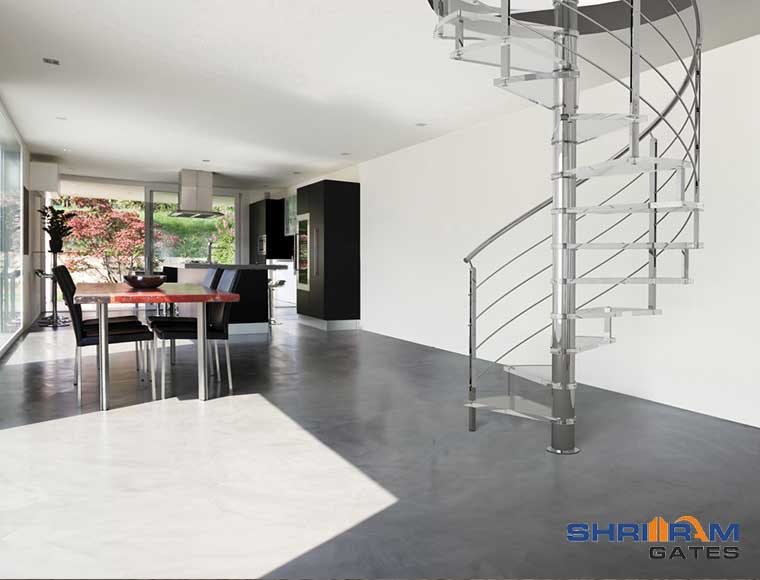 stainless steel staircase railing price