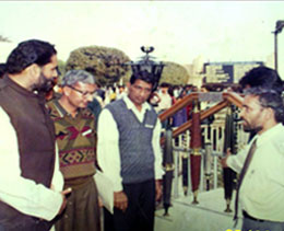 Shri Mahavir Prasad (Hon'ble Governor Of Haryana India) Visiting Our Stall During International Trade- fair-1998